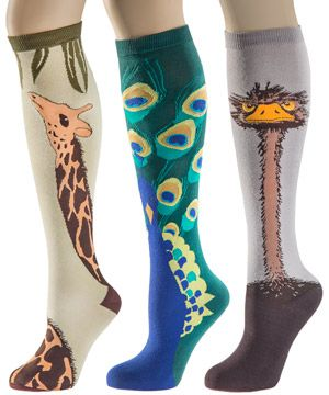 Peacock socks please!!-- Animal Socks