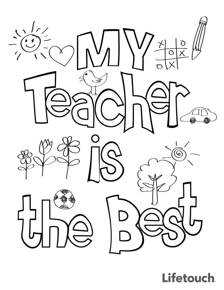 teacher appreciation week 2013 coloring pages | Teacher Appreciation Coloring Sheet | Teacher Appreciation ...