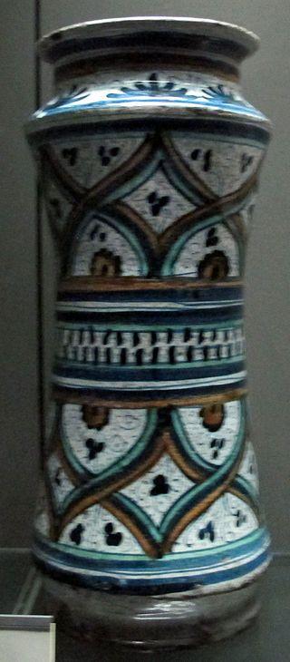 Faenza, Albarello 1480 ca..JPG