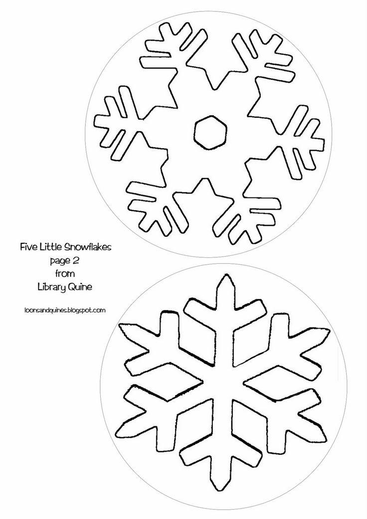 snowflakes templates printables - Artij-plus