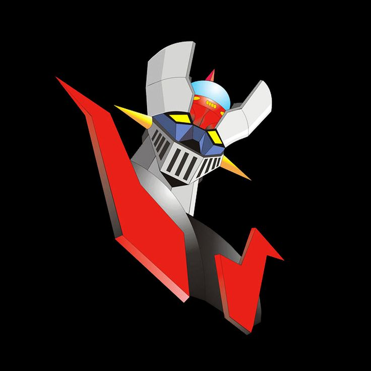 Camiseta Mazinger Z. Fuego de pecho