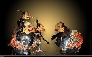 leather puppet originated from Kelantan Darul Naim, Malaysia