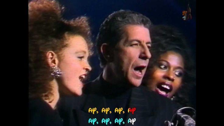 LEONARD COHEN - Take this waltz - TVRIP - 1988 - Subtitulado inglés y es...