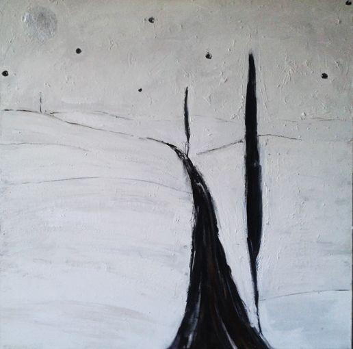 """Tomasz Kuran, """"Pejzaż ascetyczny I"""", 2012"""