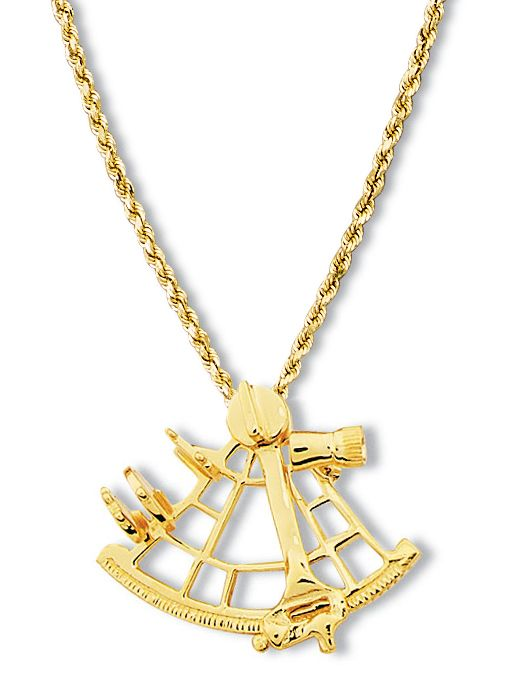9 best Sextant Jewelry in 14k and 18k Gold images on Pinterest 18k