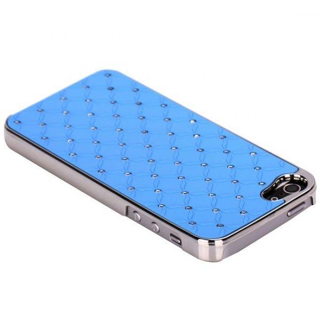 Victoria Bling (Vaaleansininen) iPhone 5 Suojakuori - http://lux-case.fi/victoria-bling-vaaleansininen-iphone-5-suojakuori.html