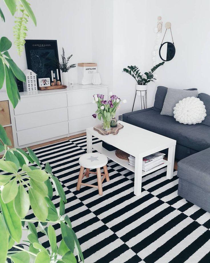 """5,157 Likes, 37 Comments - Anna (@skandynawska_weranda) on Instagram: """"Livingroom.// Dziś wiosenne sprzątanie...biorę się za okna i balkon. Trzeba go ogarnąć po zimie. W…"""""""