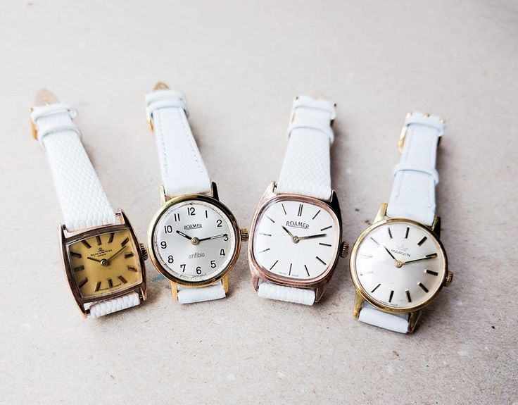 Collection of vintage women's watches. Finely selected.