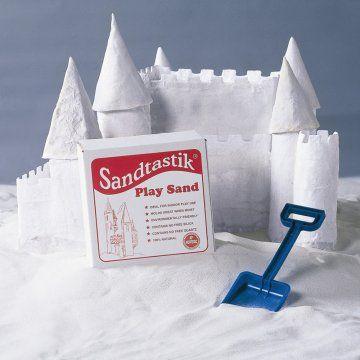 Sandtastik White Sandbox Sand-25 lbs.