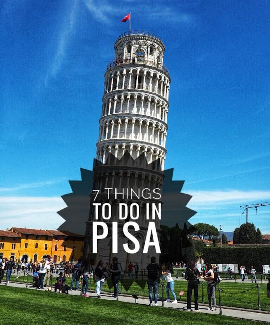 Italy Traventures 7 Things to do in Pisa Ee Sing s Traventures