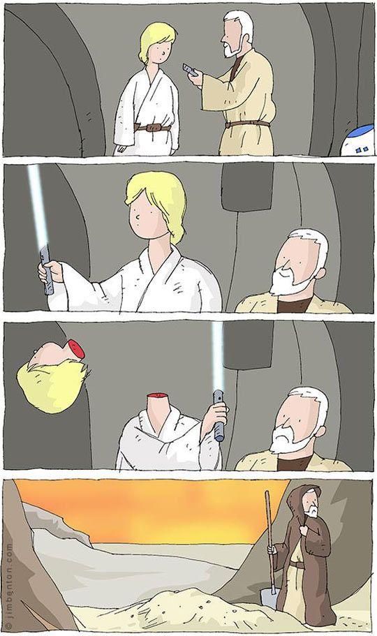 Star Wars Episode IV: A new...never mind.