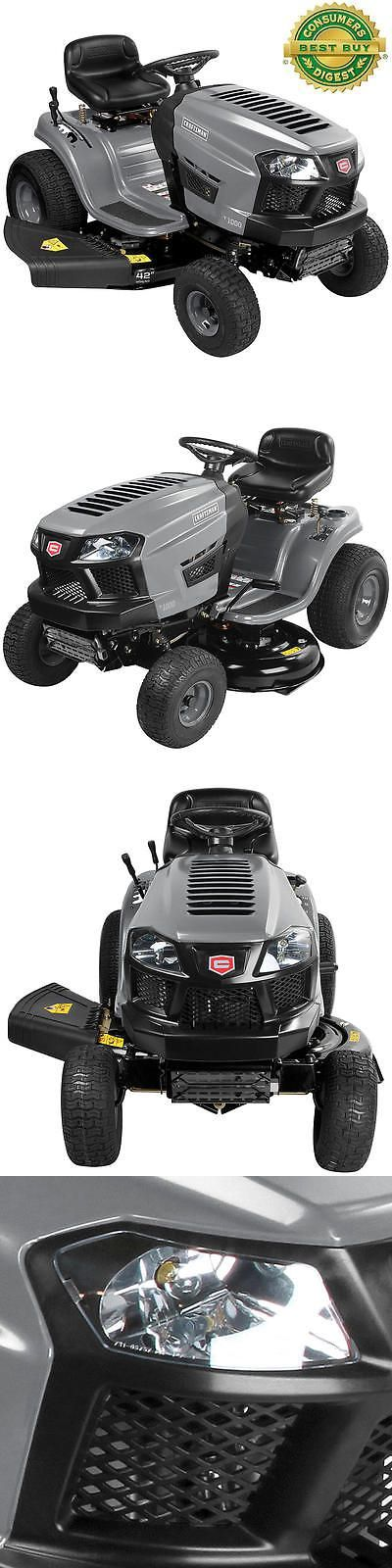 Riding Mowers 177021: Craftsman Riding Lawn Mower 42 Cut 7 Speed 420Cc Delieverd To Your Door -> BUY IT NOW ONLY: $1599.95 on eBay!