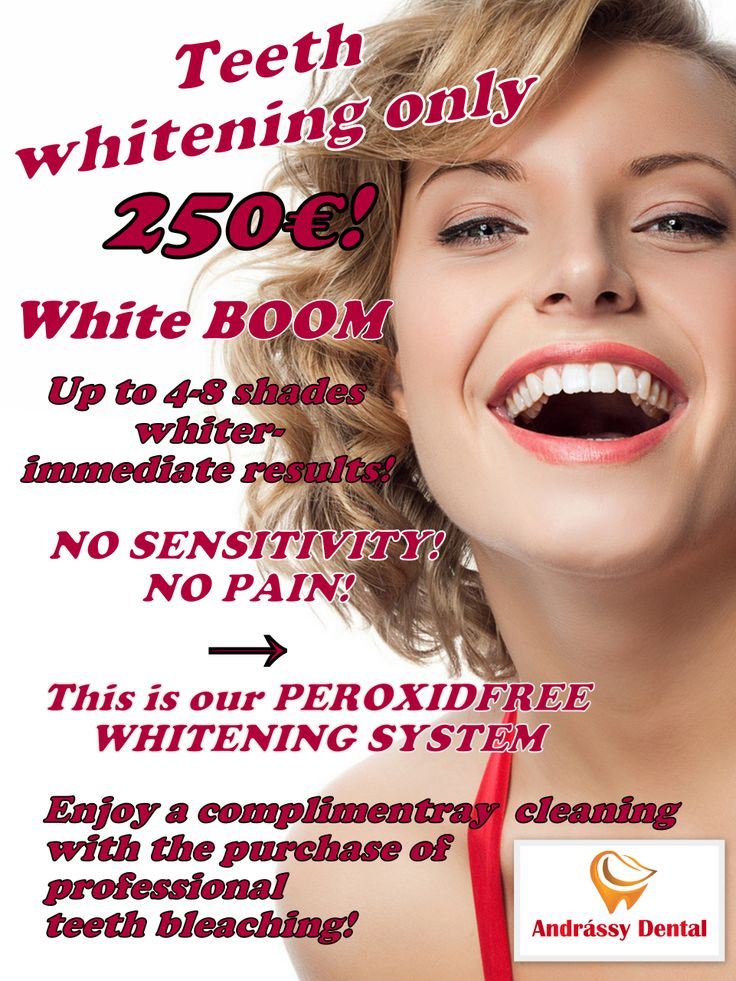 Teeth Whitening only 250 euro!