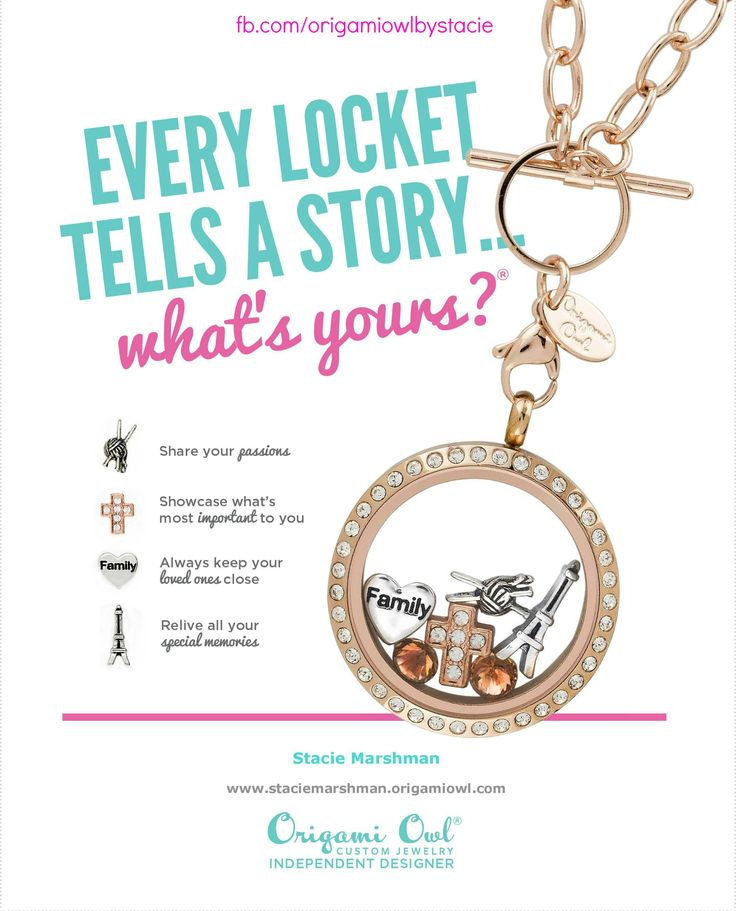 157 best Wear It ~ Origami Owl images on Pinterest ...