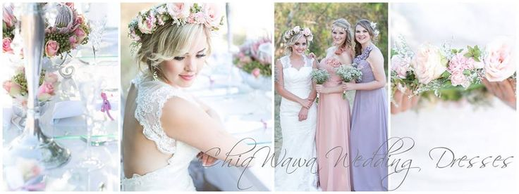 Wedding dresses, bridesmaids dresses, vintage glamour!
