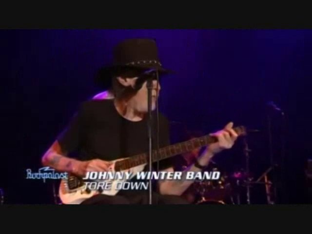 Live in Germany, 2007, w/ Johnny Winter