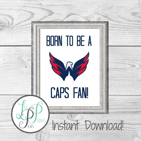 Check out this item in my Etsy shop https://www.etsy.com/ca/listing/264362520/washington-capitals-print-caps-baby