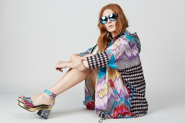 #gorman's psychedelic spring collection, KAPOW! proves our theory that no one can be sad in an anorak.