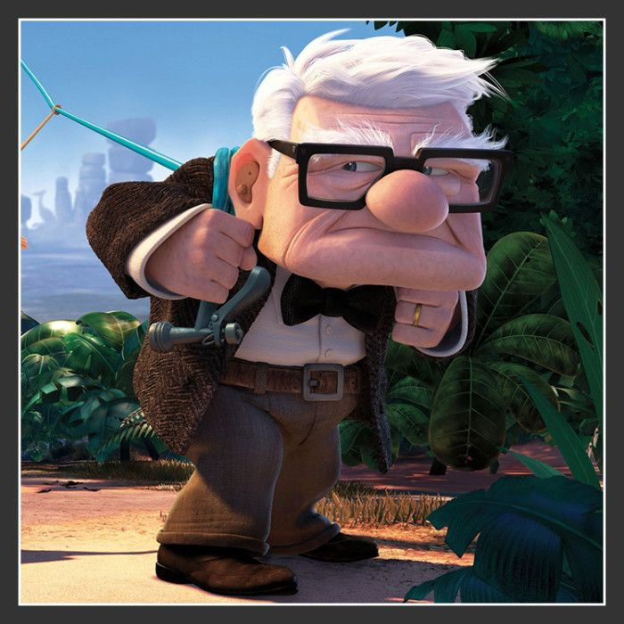 Carl Fredricksen Costume from Disney Pixar Up Movie
