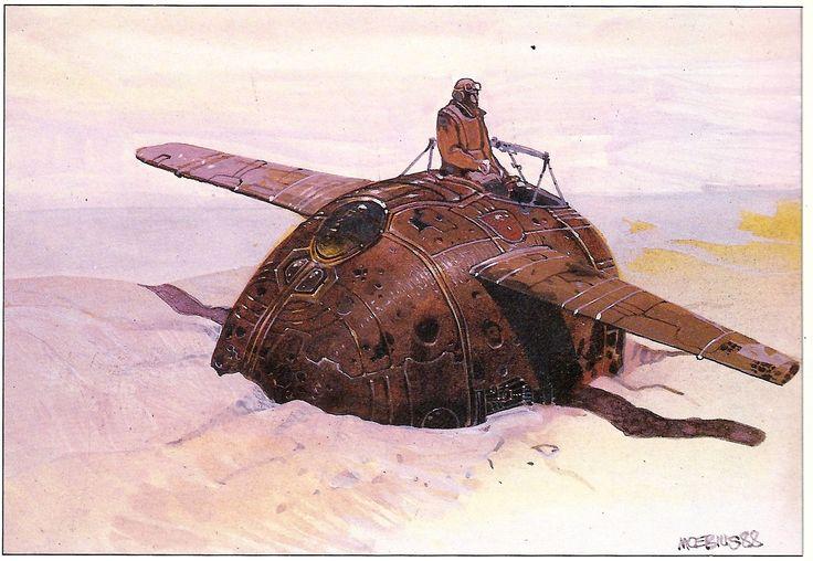 By Jean Giraud (Moebius) (1988)