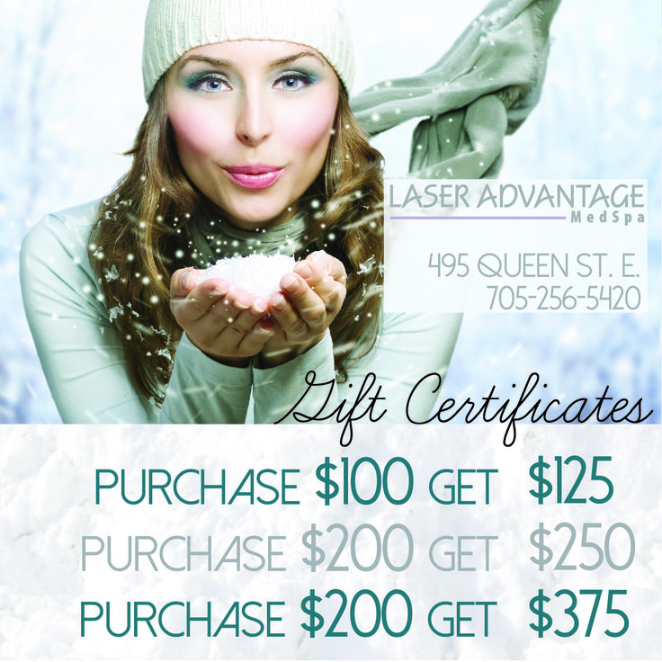 Enter to Win a $200 Gift Certificate at: ssmlaseradvantage.com/contest