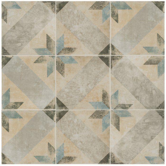 Herculanea 10 X 10 Porcelain Field Tile Tiles Artisan Tiles Patchwork Tiles