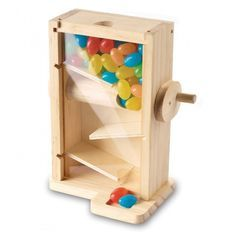 Candy Maze Woodworking Kit - a fun project to work on with your child or grandchild!