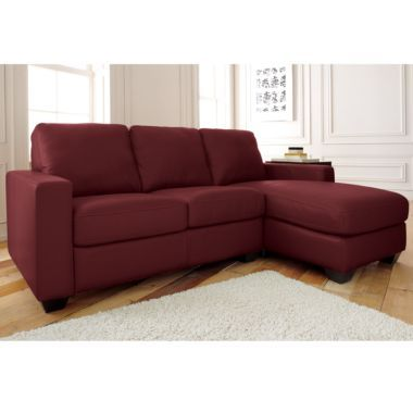 Small Sectional (leather)