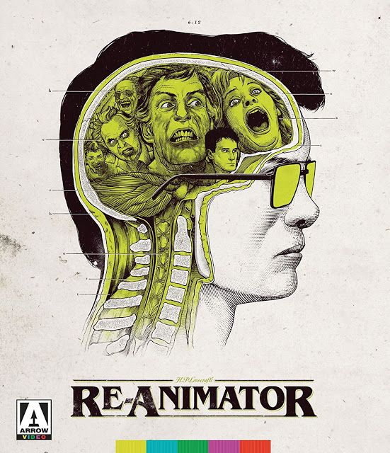 McBASTARD'S MAUSOLEUM: RE-ANIMATOR (1985) (2-Disc Limited Edition Blu-ray...