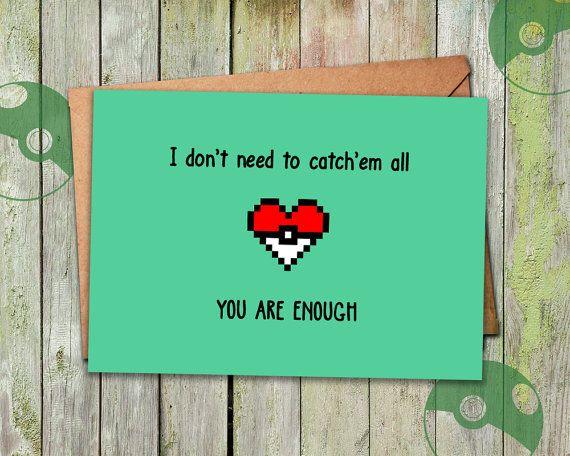Pokemon Valentine Valentinstag-Karte Valentine von playerNo2