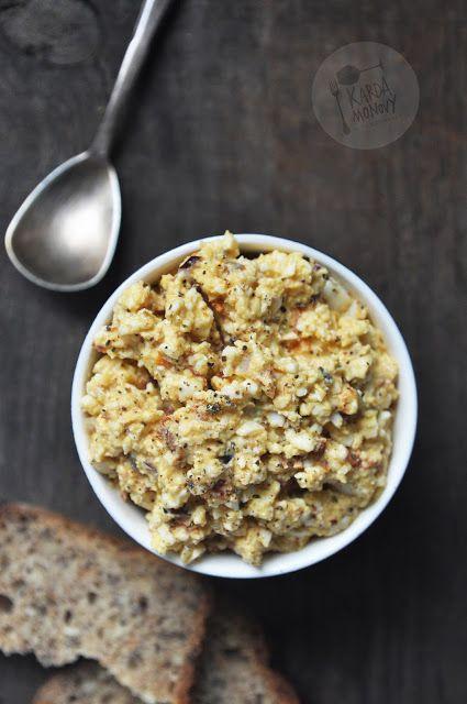 Kardamonovy: Pasta jajeczna z suszonymi pomidorami