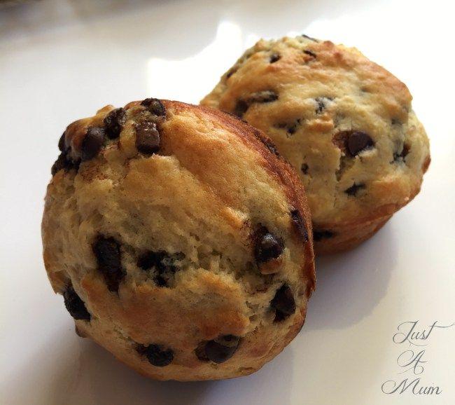 Just A Mum's Banana Chocolate Muffin 5
