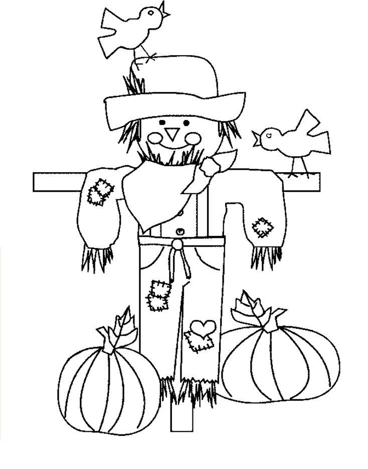 free kids coloring thanksgiving printouts - Picture Printouts