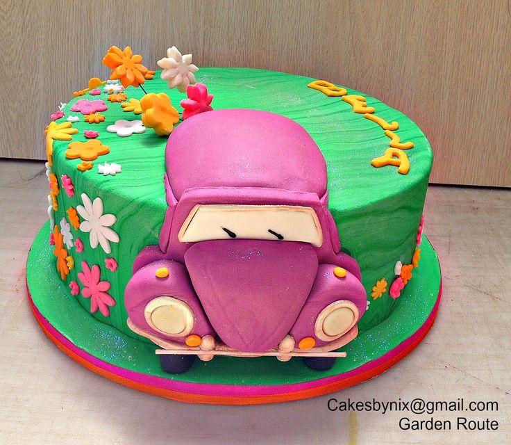 Car cake for girls