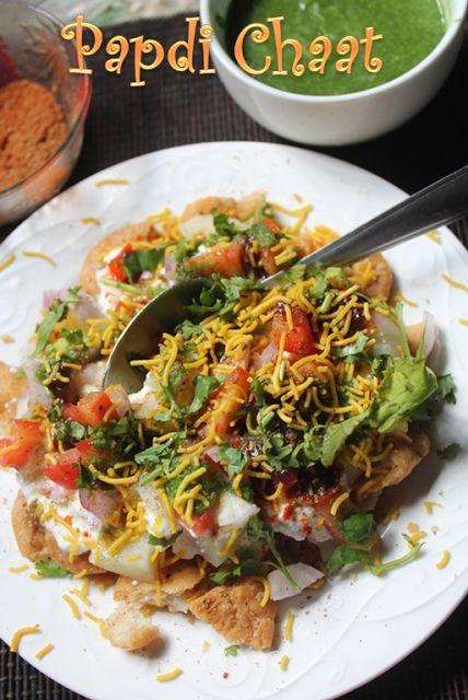 YUMMY TUMMY: Papdi Chaat Recipe - Papri Chaat Recipe - Dahi Papdi Chaat Recipe