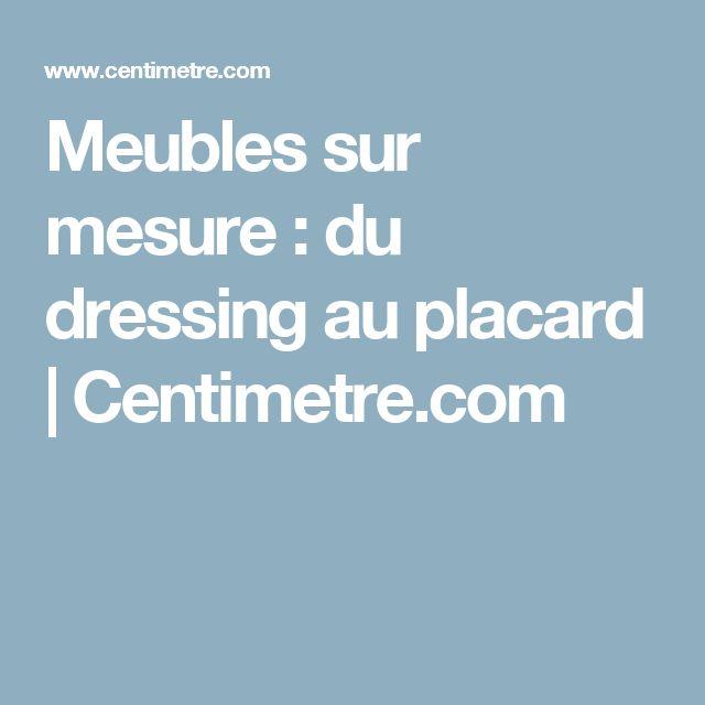 Meubles sur mesure : du dressing au placard | Centimetre.com
