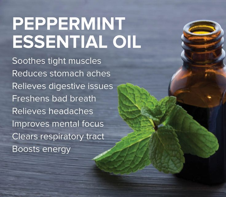 Peppermint Essential Oil has a long list of benefits and uses. Make sure to mix the concentrated oil with a carrier oil like coconut or shea butter. Use a few drops on your temples or back of the neck to get relief from headaches. Rub a drop of peppermint and lemon oil onto your wrists for a pick me up. Drink a glass of water with a drop of peppermint oil to reduce heartburn. And the list goes on and on.