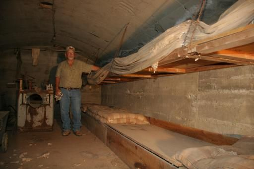 Sleeping Arrangements For A 1960s Fallout Shelter Could Consist Of A Long Series Of Cots Along The Walls The Rema Fallout Shelter Secret Hiding Places Shelter