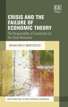 Crisis and the Failure of Economic Theory (EBOOK) FULL TEXT:https://www.elgaronline.com/view/9781785365348/9781785365348.xml