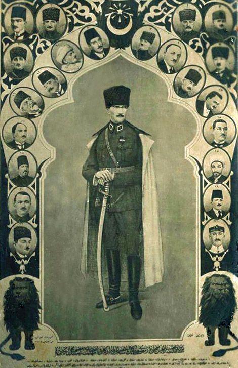 Mustafa Kemal Paşa    (Erdinç Bakla archive)
