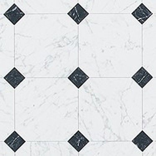 Simple Black And White Diamond Tile Floor Of A Classic Kids
