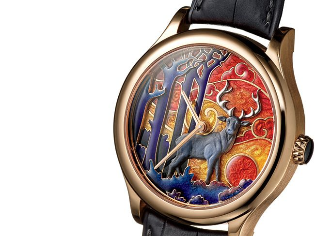 2 - Enamel Timepieces Inspired by Nature