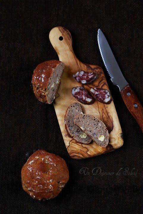 Petits pains à la châtaigne et aux noisettes