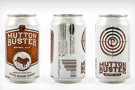 Payette Brewing Co. cans, designed by Drake Cooper.