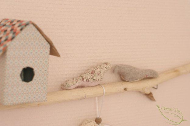 coudre des oiseaux décoratifs
