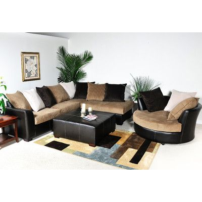 Chelsea Home Domino Sectional