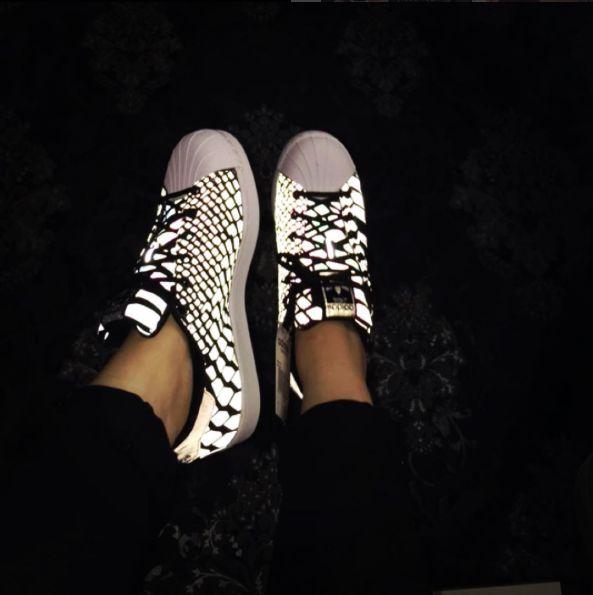 Mens And Womens Adidas Superstar II XENO Reflective | Schuhe