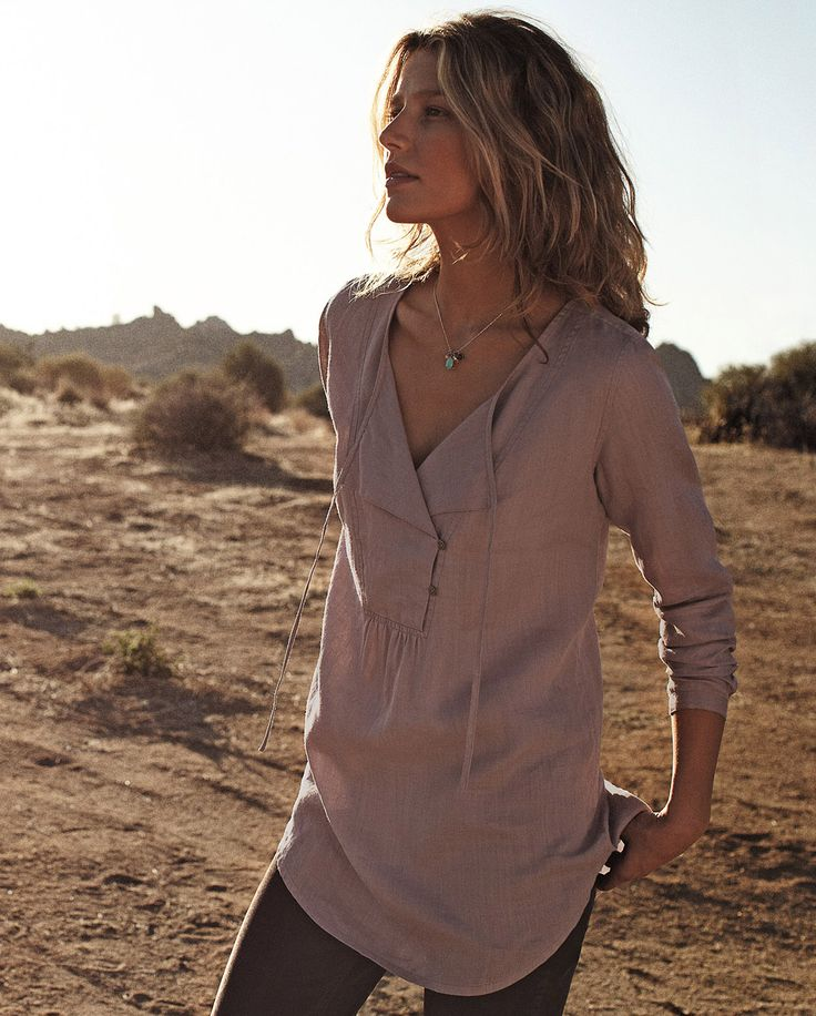 Long Tunic, this style and color would look really cute with my brown leggings.