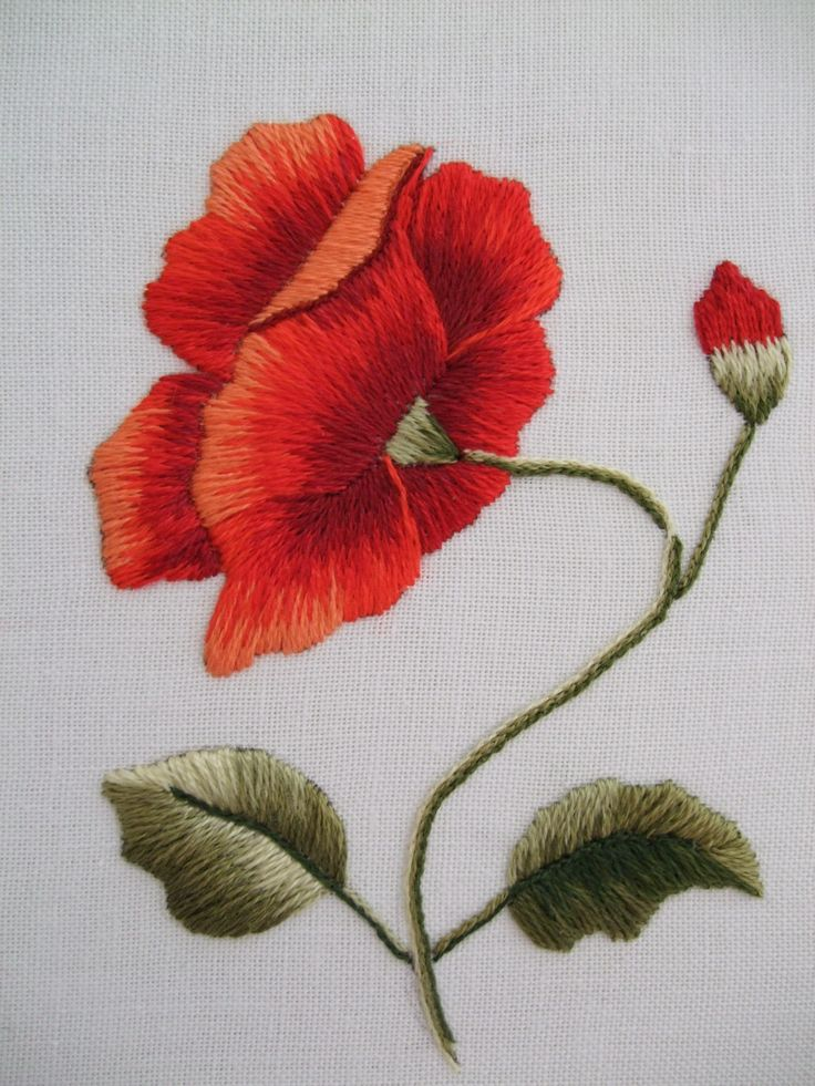 crewel embroidery stitch