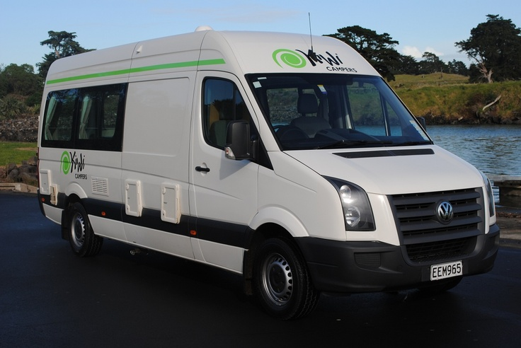 The Kiwi 2 Berth Euro is a superior vehicle designed for couples travelling in style. The 2007/08 model Volkswagen Crafter is fully packed with home comforts – shower and toilet, hot water, microwave, cooker, CD player, air conditioning, gas heating and more. Driven by a powerful yet economical 2.5L intercooled turbo diesel engine. http://www.touring-newzealand.com/campervans/euro-campervan/layouts-campervan.php